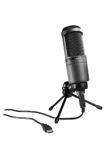 Audio-Technica AT2020USB Cardioid Condenser USB Microphone (Discontinued) (Audio Technica At2020 Studio Condenser)