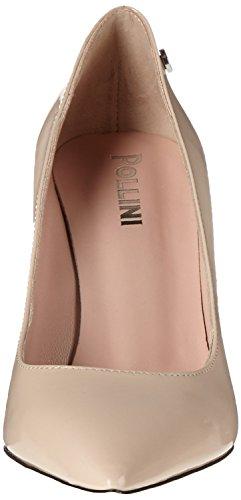 Pollini Pc85, Zapatos de Tacón para Mujer Beige (Nude)