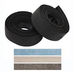 Pro Ladyフラワーロード自転車ハンドルテープW / Adhesive Back andジェル(フラワーブルー) [並行輸入品] B07BFKHTJY