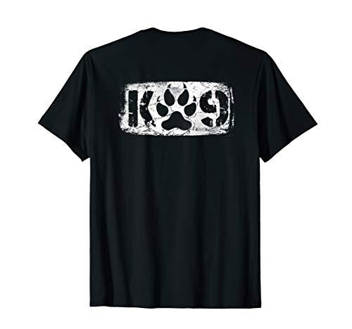 K-9 Police Officer T-Shirt LEO Off Duty Cops Law -