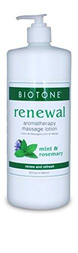 BIOTONE Renewal Aromatherapy Massage Lotion - 32oz