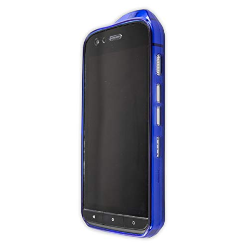 caseroxx TPU-Case for Cat S61 with Shock Protection, Colored in Blue, Composed of TPU