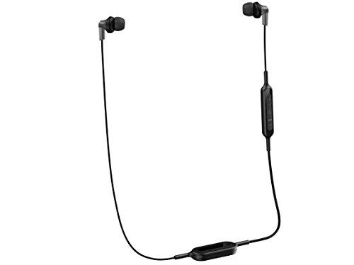 Panasonic Bluetooth (Panasonic Wireless Bluetooth In-Ear Headphones with Sound Mic Controller & Quick Charge Function Black (RP-HJE120B-K))