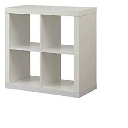Better Homes And Gardens Bookshelf Square Storage Cabinet 4 Cube Organizer  White