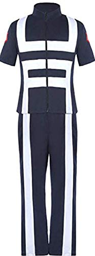 Boku No Hero Academia My Hero Academia Costume Suit Training Suit Uniform Sportswear Navy -