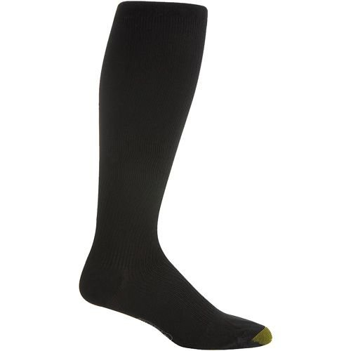 Gold Toe Men Support Over The Calf Socks (size:XL, color: Black by Gold Toe