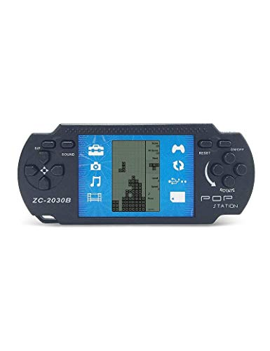 heya Retro PSP Portable Tetris Handheld Tetris Kids Electronic Brick Games Toys Built-in 23 Games 2 AAA Batteries are Used for More Than 1 Month Good Gift for - Eyes 11 Psp