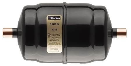 Parker Hannifin 163S Gold Label Steel Liquid Line Filter-Drier, 3/8