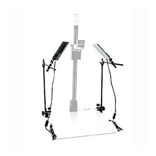 Smith Victor LED Light Kit Set w/2 Adjustable Arms for Copy - Copy Macro Stand