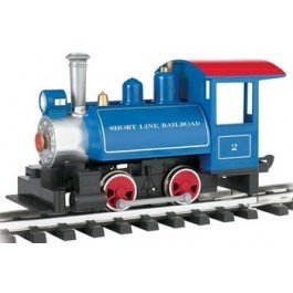 Bachmann Industries Li'l Big Haulers Locomotive G-Scale Short Line Railroad with Tender, Large
