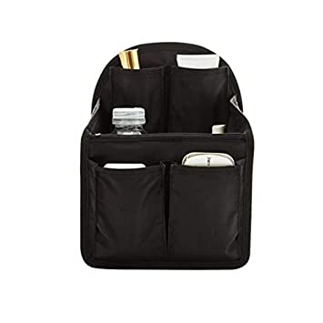 cff1be447c Amazon.com : Saasiiyo Women Fashion Backpack Inner Bag Foldable Inner Two  Side Use Storage Cosmetic Organizer Bags Obag Luggage Accessories : Beauty