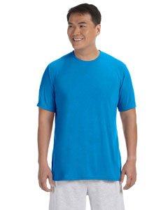 Gildan Classic Fit Mens Small Adult Performance Short Sleeve T-Shirt, Royal Blue