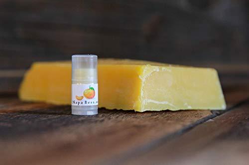 Tangerine Mini Lip Balm Napa Bees Pack of 5 by Napa Bees