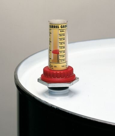 Barrel Level Gauge, 55 Gal, 3/4