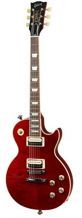 Gibson Slash firma Rosso Corsa les paul con funda – (Racing rojo)