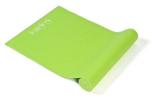 HemingWeigh Extra Thick Deluxe Yoga Mat, Green