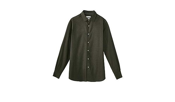 MASSIMO DUTTI 0154/116/500 - Camisa de algodón para Hombre ...