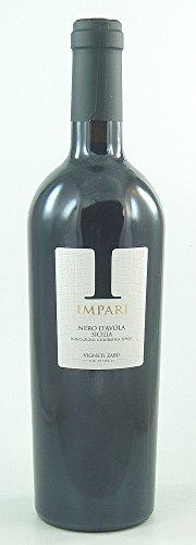 Sparpaket 6 Fl. Impari Nero d`Avola Sicilia IGT 2011 Vigneti Zabu, trockener Spitzen-Rotwein aus Sizilien portofrei