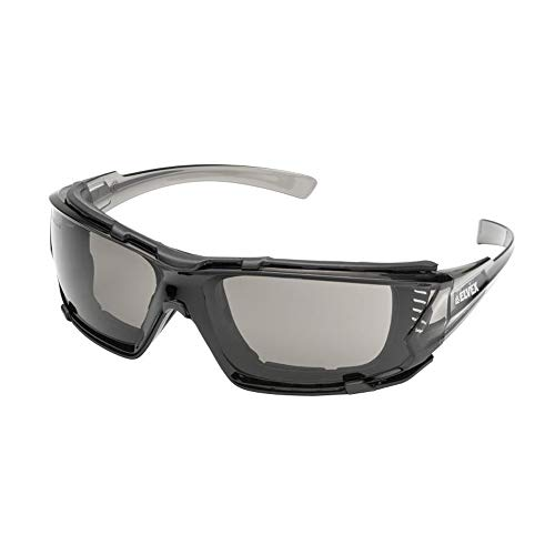 - Elvex Go-Specs IV Goggle-Like Protection With Temple Slots And Ventilation Ports In Grey Anti-Fog Lens - GG-16G-AF