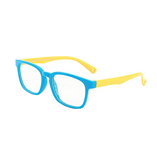 Coopers Kids Blue Light Blocking Glasses - for Boys and Girls Ages 3-12 - Computer Filter Glasses - Eye Protection for Computer, Tablet, Screen Reading, Homework & Gaming - Anti-UV Glare - Blue