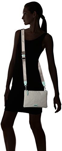 Bree Limoges 6 S17 - Bolsa Mujer Mehrfarbig (light Grey/lightblue)