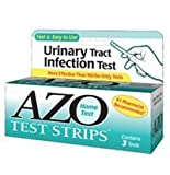 AZO Test Strips 3 Each (Pack of 8)