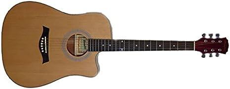 Guitarra Electroacústica Memphis CF68LCN: Amazon.es ...