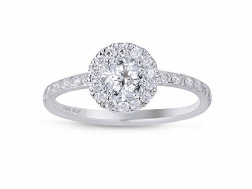 Diamond Halo Ring - 2