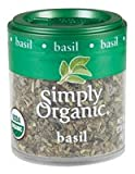 Simply Organic Basil Leaf, Sweet Cut & Sifted Certified Organic, 0.18-Ounce Containers (Pack of 6) ( Value Bulk Multi-pack)