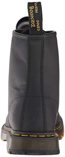 Martens Greasy Mixte noir Bottes Black Adulte 1460 Noir Dr dFqR1xA8wd
