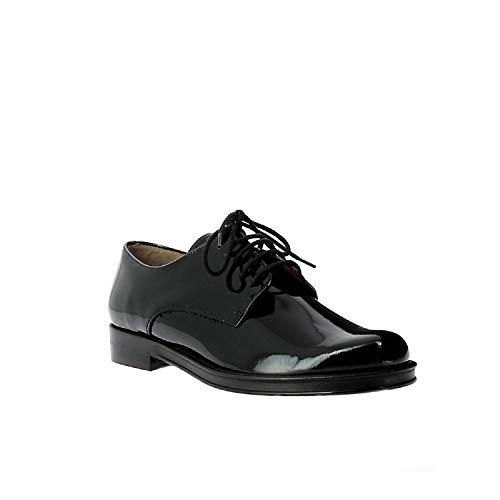 Zapatos Cordones Negro Stuart Otra Piel Mujer De Elizabeth vpZBnWSqS