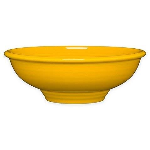 Homer Laughlin 765-342 64 oz Pedestal Bowl, Daffodil ()