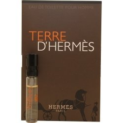 TERRE D'HERMES by Hermes EDT SPRAY VIAL ON CARD MINI (Package Of 4)