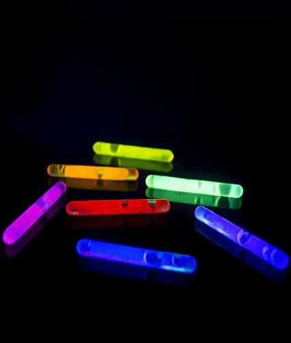 "Fun Central V78 1.5"" Mini Glow Sticks - Assorted Colors 50ct"