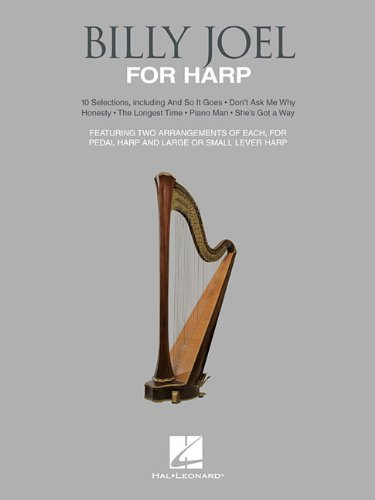Billy Joel for Harp: 10 Selections for Lever and Pedal Harp