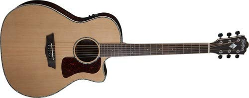 Washburn 6 String Acoustic-Electric Guitar, Natural Gloss (HG26SCE-O)