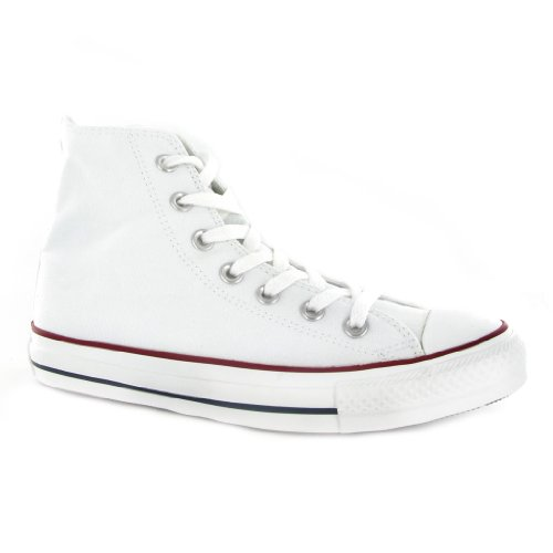 Converse Chuck Taylor HI White Womens Trainers Size 5 UK