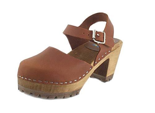 Women's Mia Abba Sandal, Size 7 M - Brown