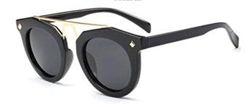 De De Sol Señoras De Polarizadas Sol De Black De Blue Gafas Las Gafas Sol La Polarizadas Película Moda De Gafas Retro La De Color Moda De wAqp7v