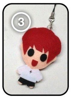EXO Chanyeol - Overdose KPOP Handmade Doll Keychain