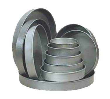 8000 Series Straight Sided Hard Coat Anodized Pizza Pan ()