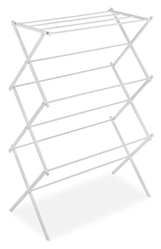 Whitmor Foldable Drying Rack WHITE