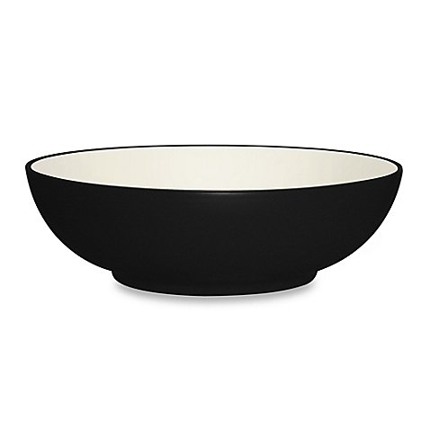 Noritake® Colorwave Vegetable Bowl in Graphite Durable Stoneware by Noritake