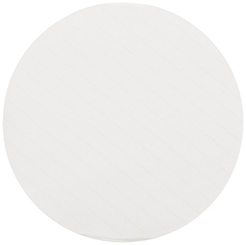 Whatman 10347008 Ruled Qualitative Special-Purpose Filter Paper with Green Lines at 5mm Intervals, Grade 8, White, Circle, 70mm Diameter - Pack of 100 by Whatman