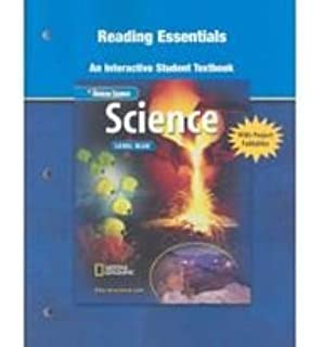 Glencoe iScience: Level Blue, Grade 8, Reinforcement and Study ...