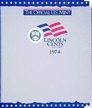 The Official U.S. Mint Lincoln Cents Coin Album: (Mint Harris Album)