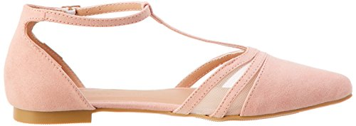 Donna New Punta light Jesh Pink Chiusa Look Sandali 70 qxA1v