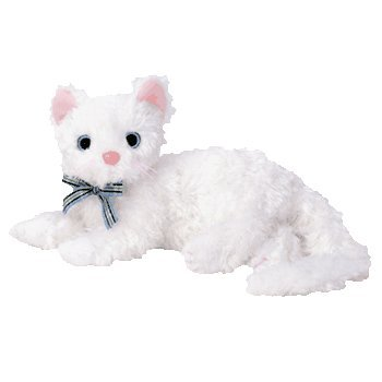 73e73b3a24f Image Unavailable. Image not available for. Color  Ty Beanie Baby -  STARLETT the White Cat  Toy