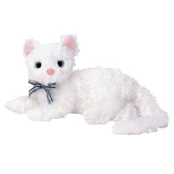 TY Beanie Baby - STARLETT the White Cat  - MWMTs Stuffed Ani