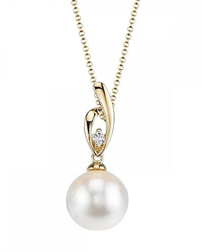 Elegant Pearl Diamond Necklace - 3